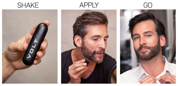 dyeing your beard and covering grey