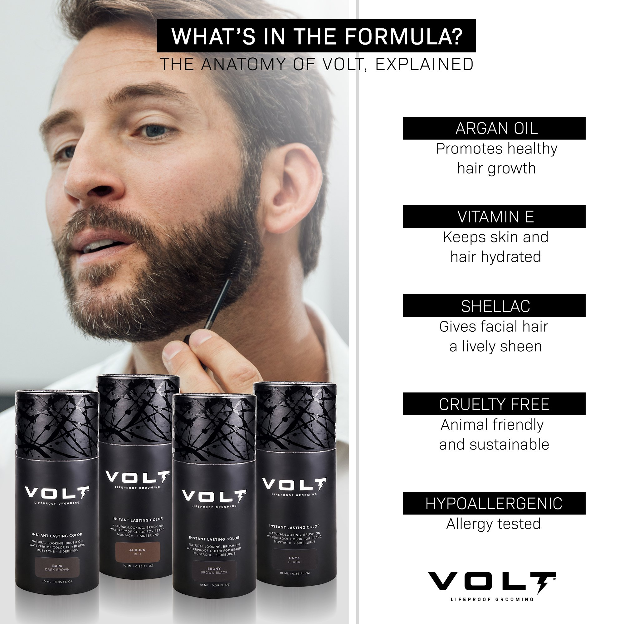 VOLT Instant Beard Color